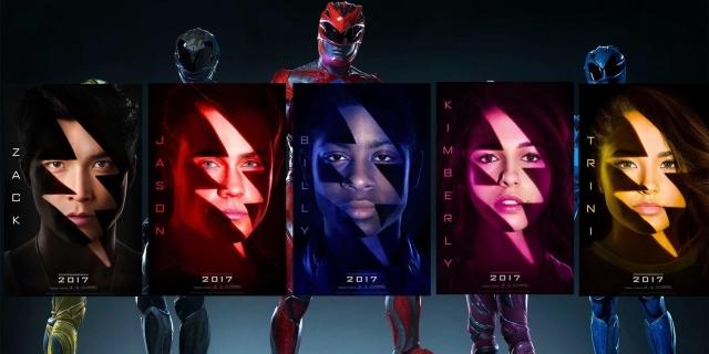 Το Μάρτιο έρχονται οι Power Rangers (2017)!