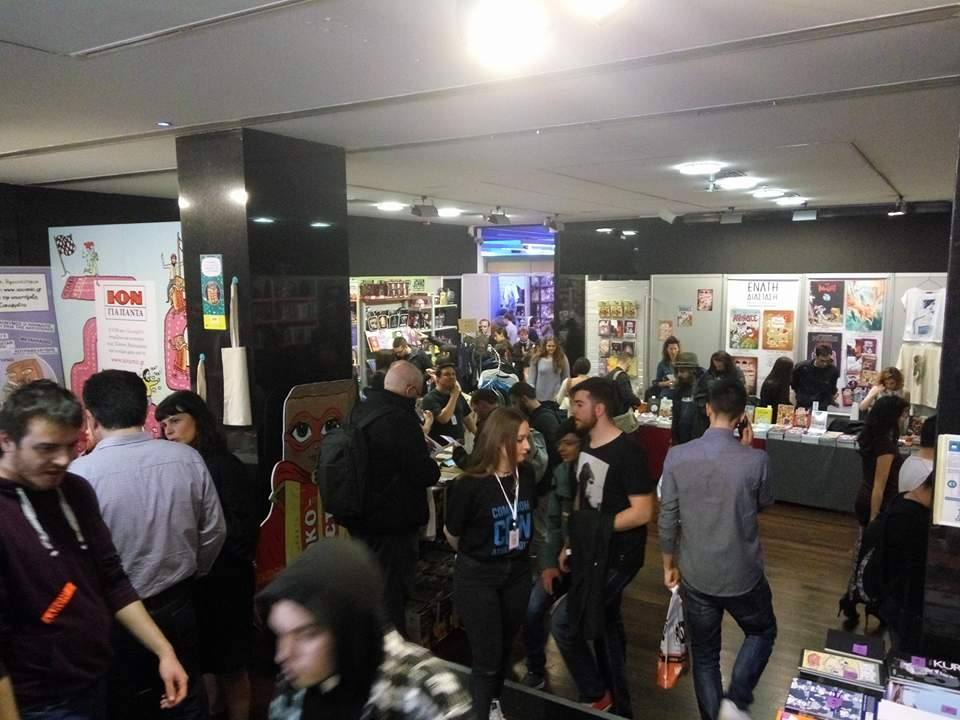 Το Comicdom Con ξεκίνησε – Δες τι γίνεται εκεί!