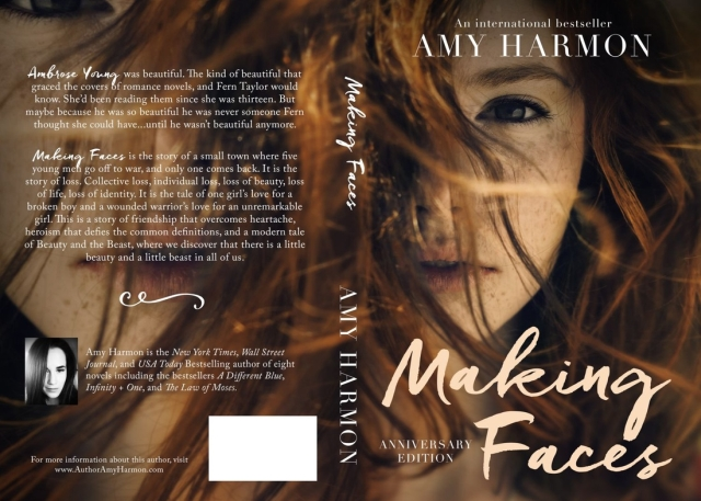 Making Face της Amy Harmon – Τι θέλω να διαβάσω στα ελληνικά
