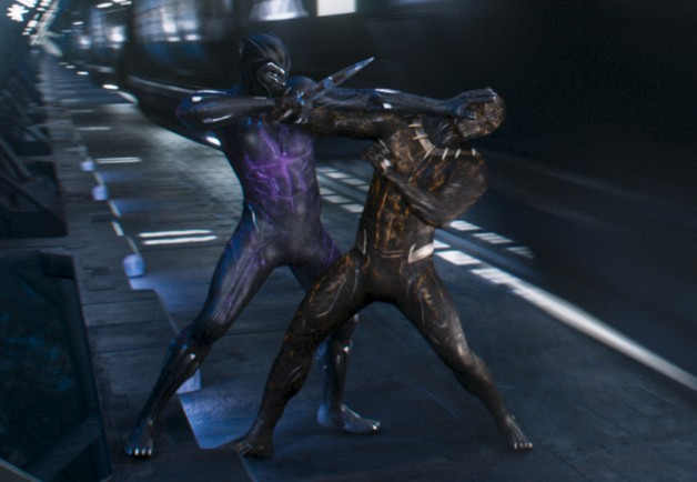 Black panther versus killmonger movie