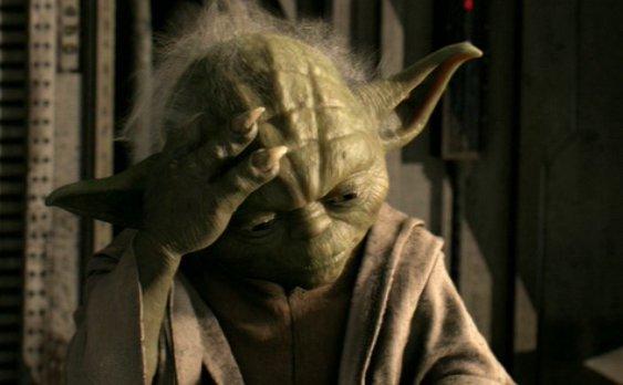 Yoda Facepalm